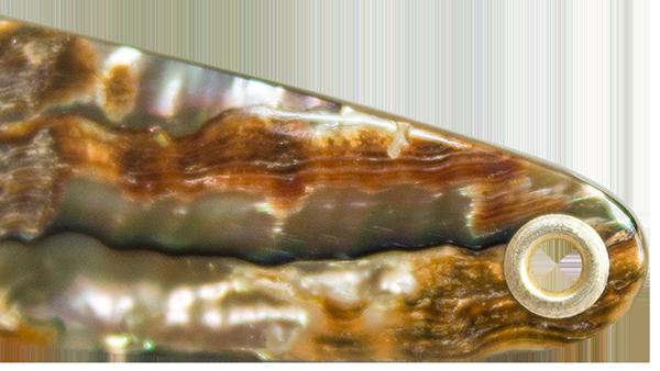 Perlmutt-Spangen-Herstellung-Ringoese